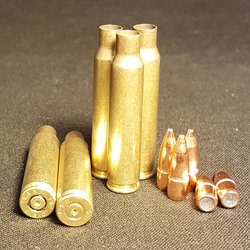 5.56 NATO + 55GR FMJ Projectile COMBO 500+