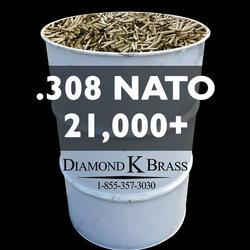 .308 NATO (7.62x51mm) 55 Gal. 21,000+