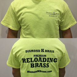 Diamond K Brass Neon T-Shirt