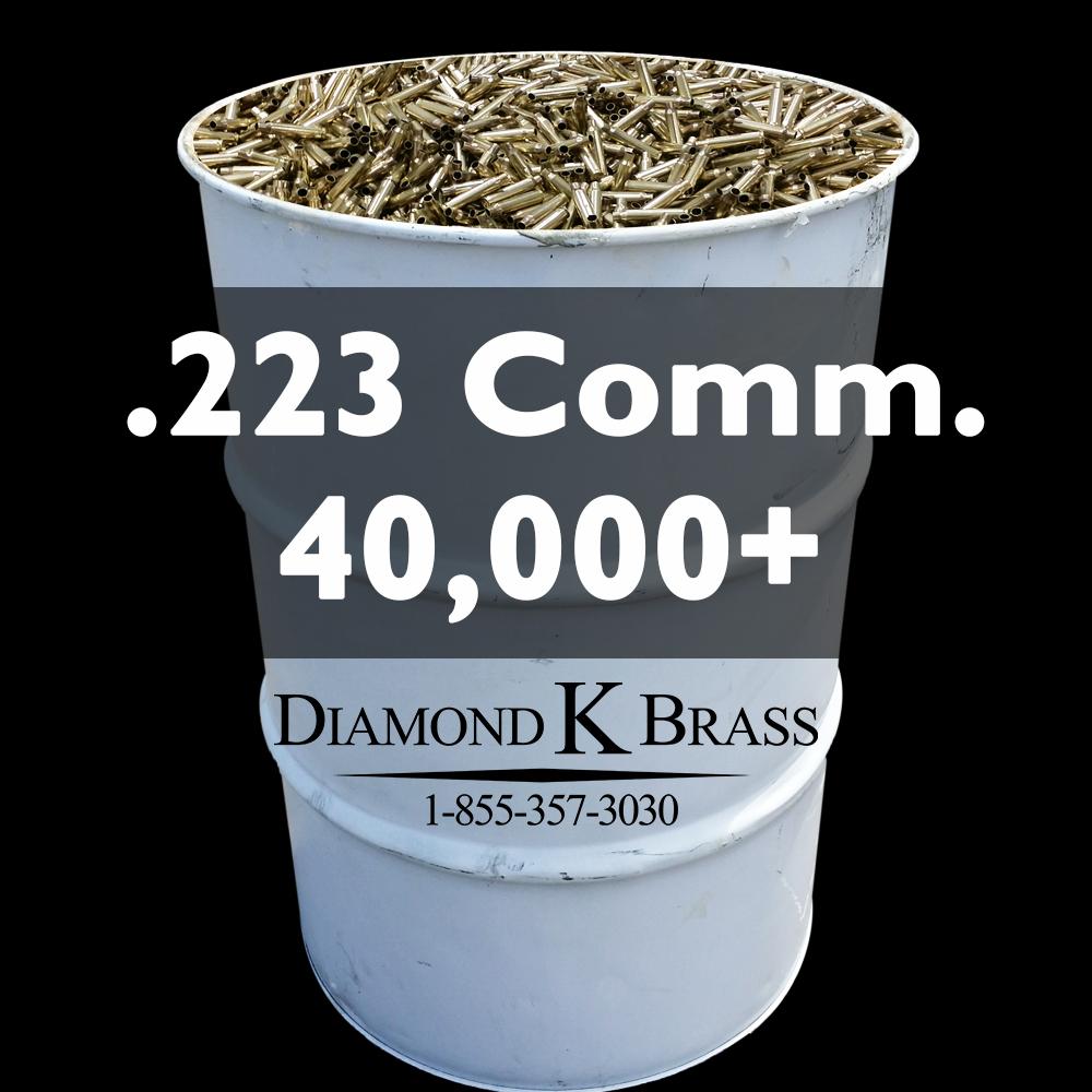 .223 REM Commercial 55 Gal. 40,000+