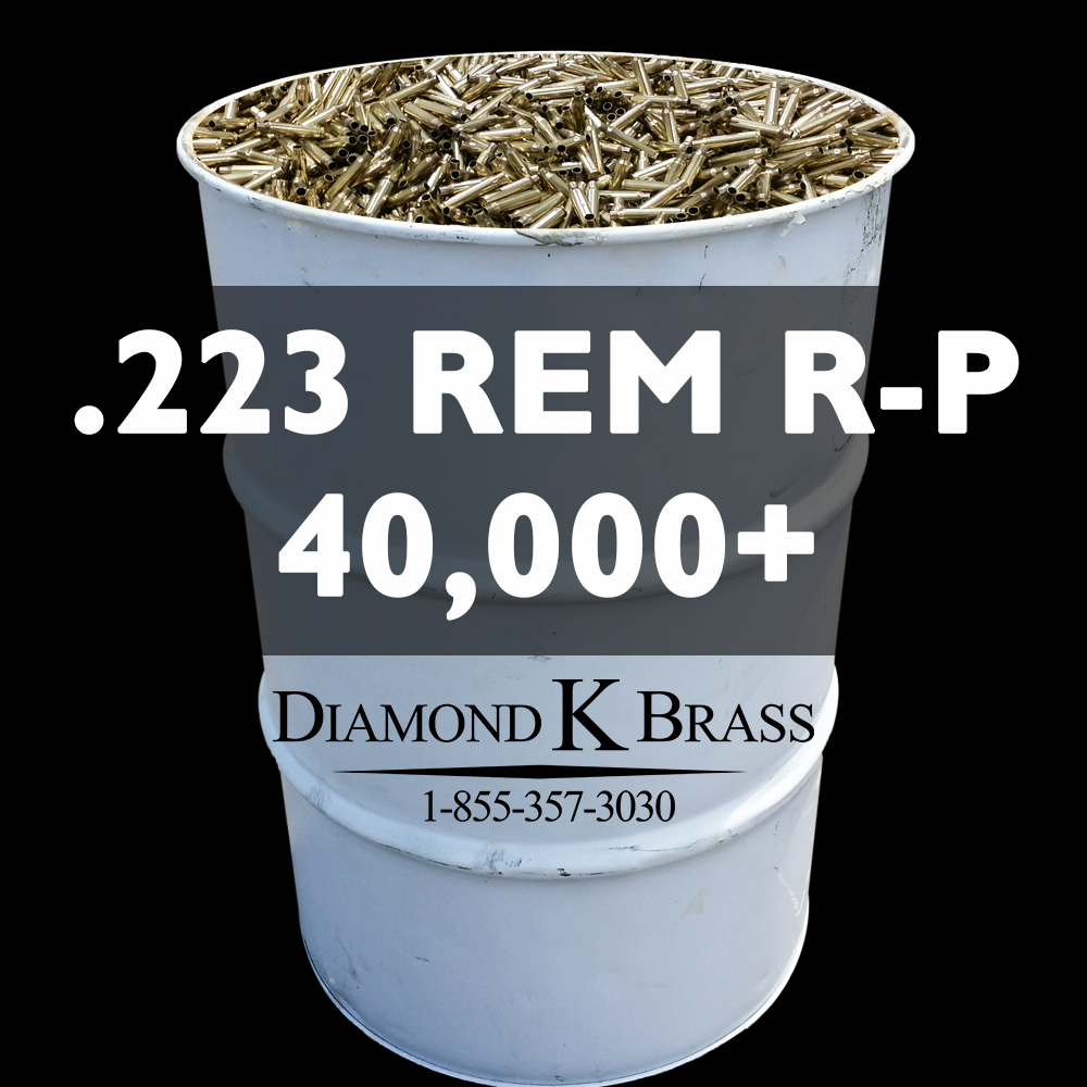 .223 REM R-P 55 Gal. 40,000+