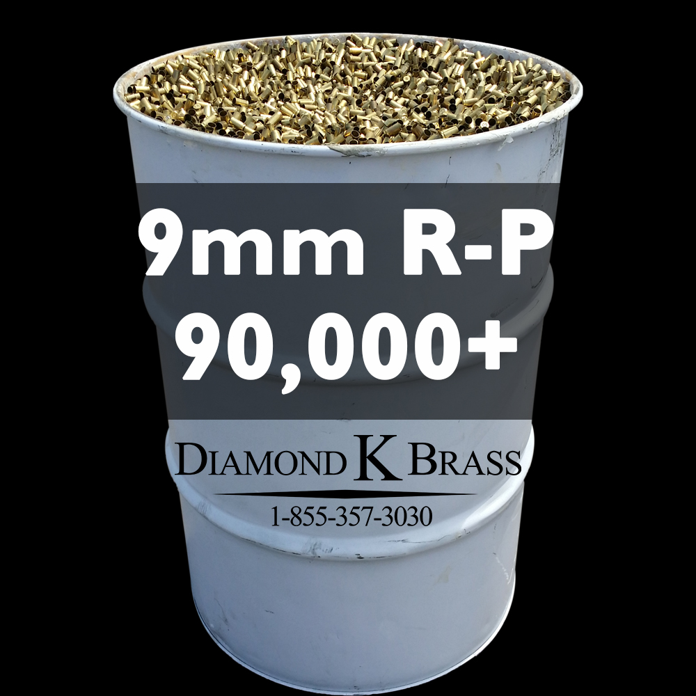 9MM LUGER R-P 55 Gal. 90,000+