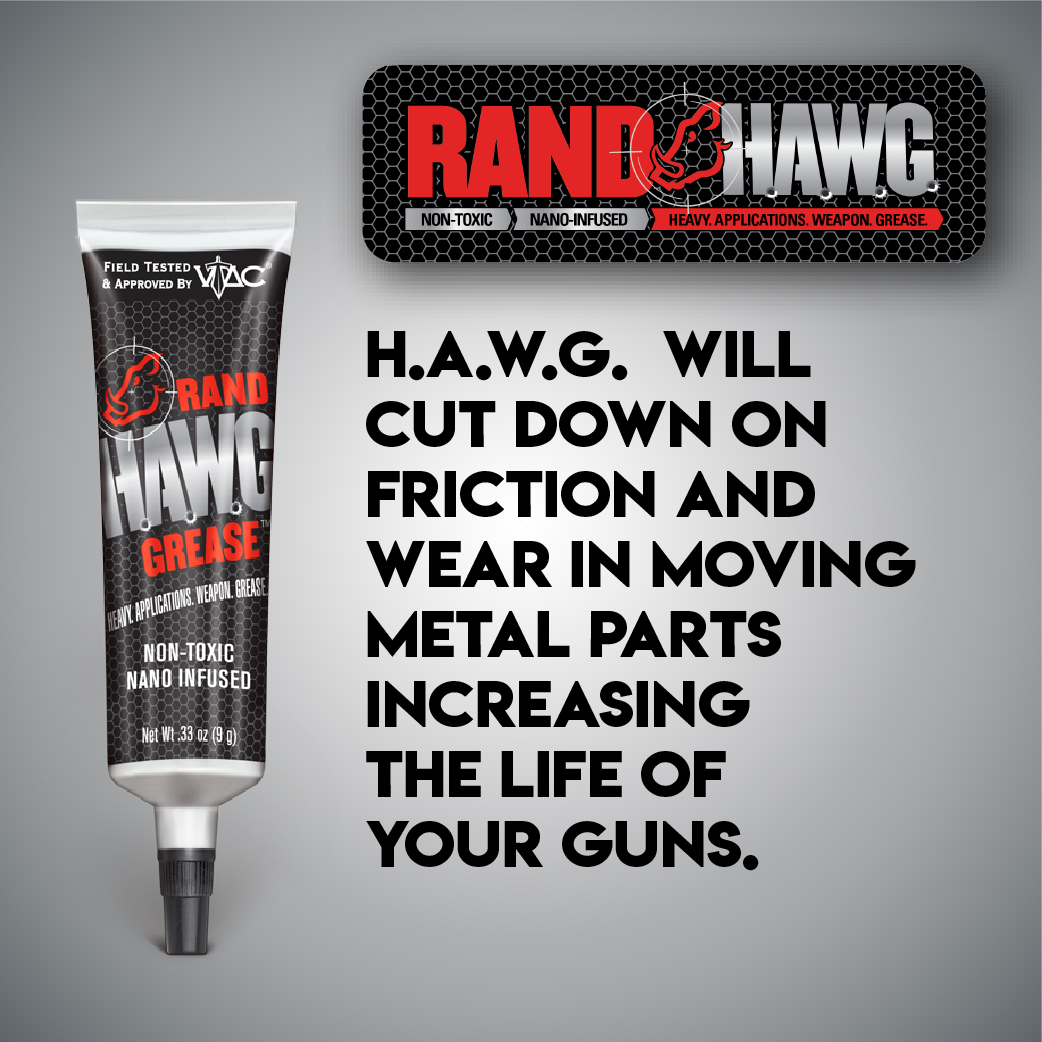 RAND HAWG Grease - 1 oz.