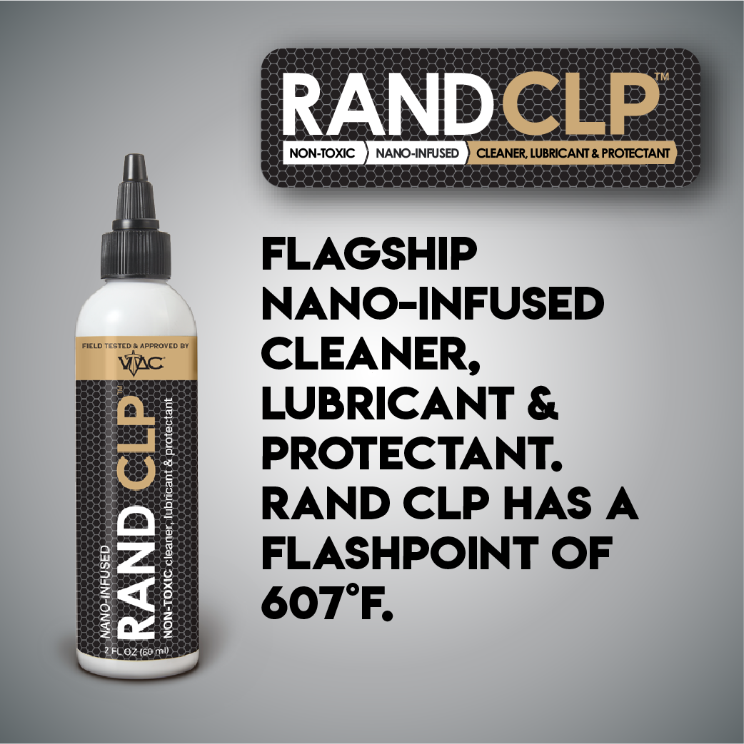 RAND CLP - Cleaner, Lubricant & Protectant - 2 oz.