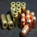 .40 S&W Processed + .40SW/10MM CAL 180 GR RN Projectiles COMBO 500+