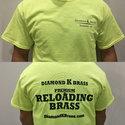 Diamond K Brass Neon T-Shirt