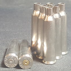 .22-250 REM NICKEL - 25 ct.