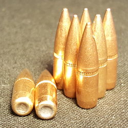 .223 CAL 62gr FMJ Projectiles 100 ct.