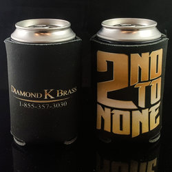 Diamond K Brass KOOZIE